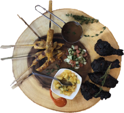Calypso Jerk Wings from Berber Street Food